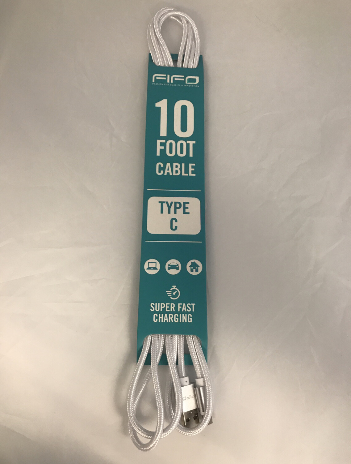 47222 10FT TYPE C CABLE SUPER FAST CHARGING