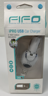 60029 THE FINEST US CAR CHARGER FOR IPHONE 6