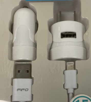 60020 USB TRAVEL / CAR CHARGER FOR IPHONE 6