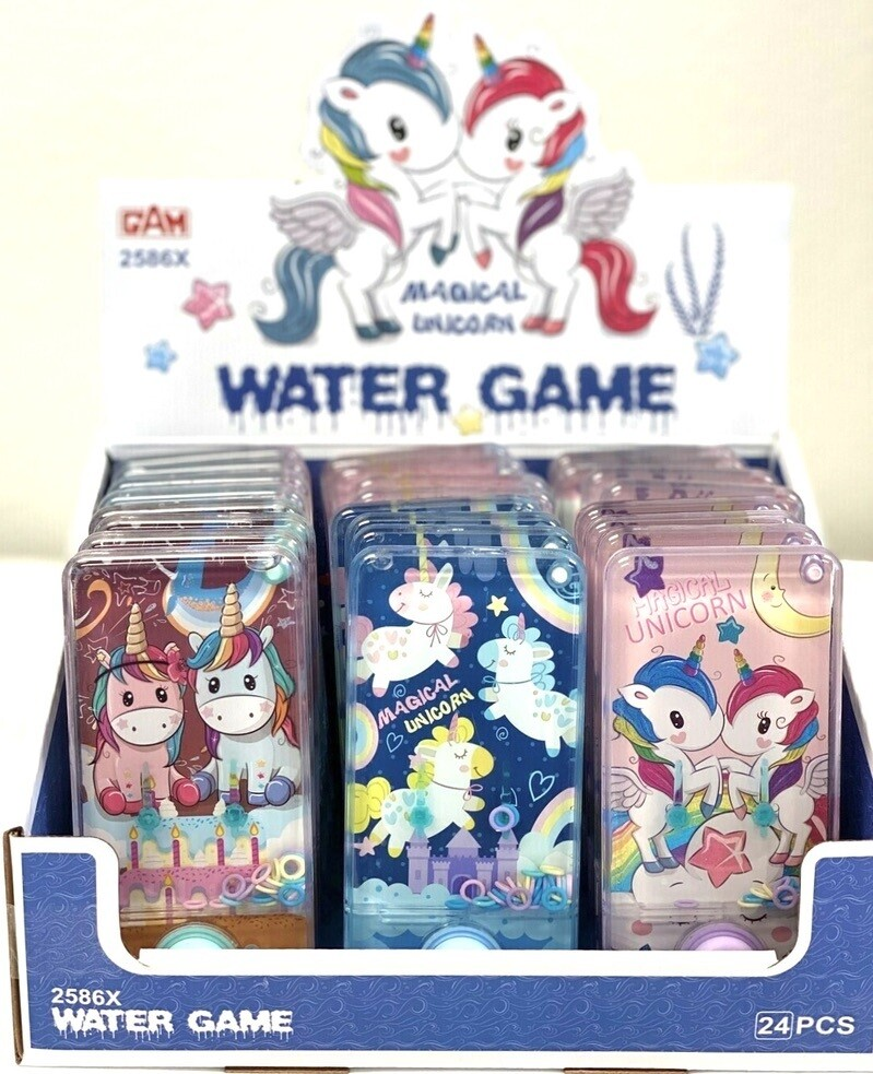 UNICORN TRANSPARENT WATER GAME