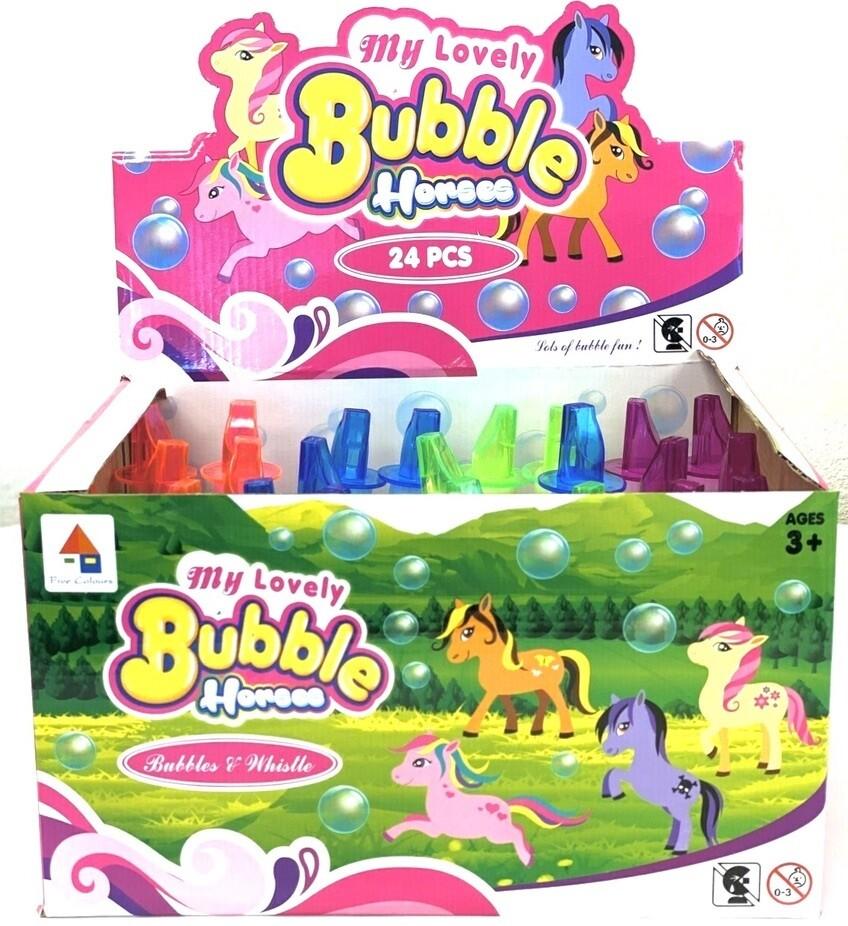 RAINBOW HORSE BUBBLES