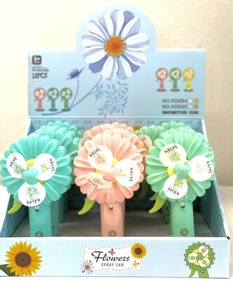 CH-010 SUNFLOWER WATER SPRAY HAND PRESSURE FAN
