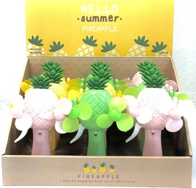 PINEAPPLE WATER SPRAY HAND PRESSURE FAN