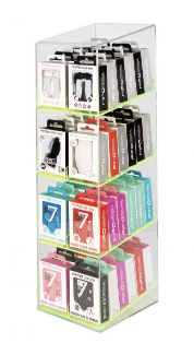 FIFO COUNTER CHARGER DISPLAY