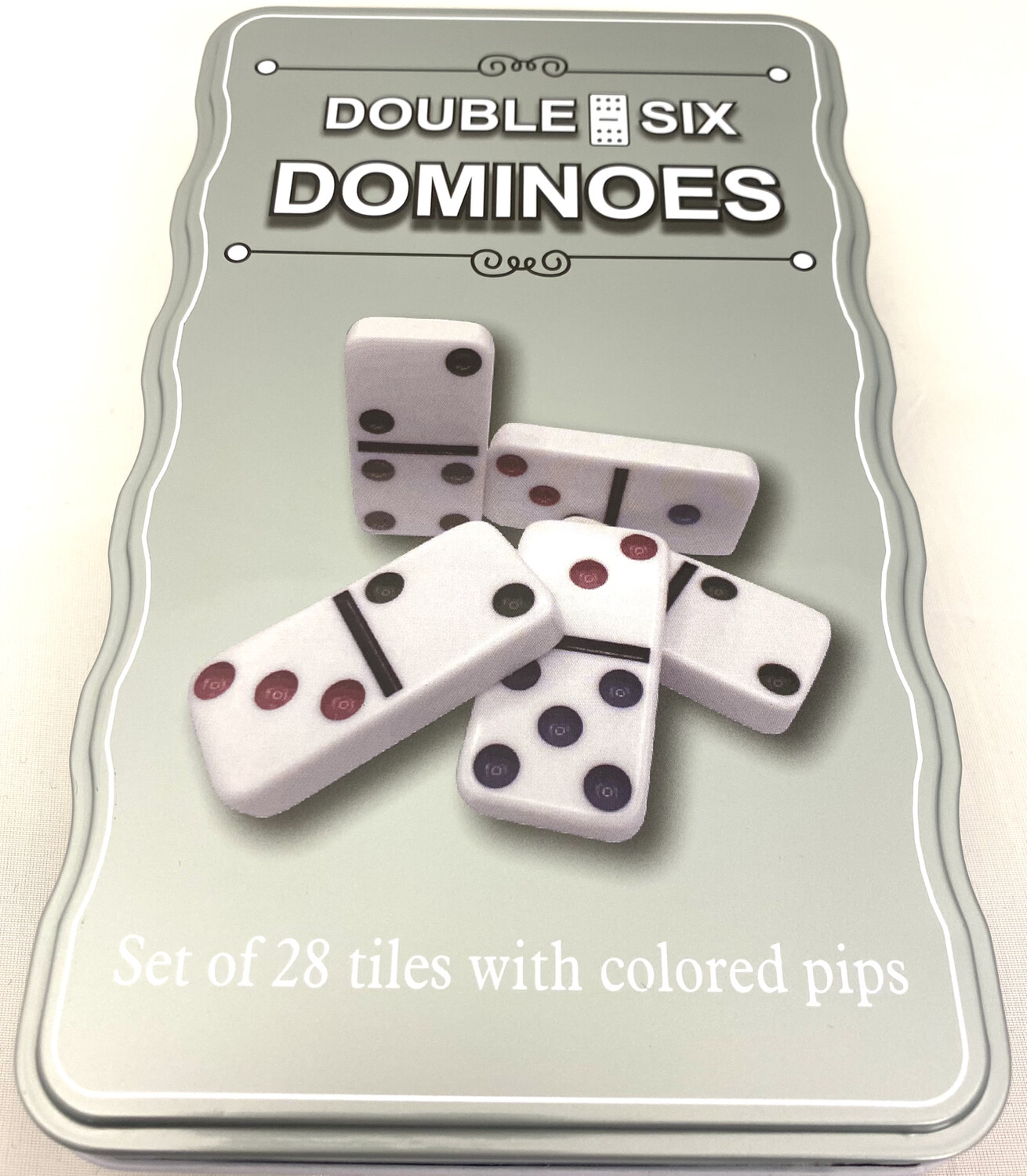 YW-44 DBL 6 COLOR DOMINOES