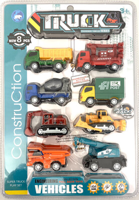 MC-5 PULL BACK CONSTRUCTION TRUCKS
