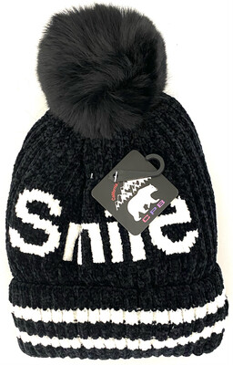 LW-026 SMILE SHEER WINTER BEANIES ONE BULB
