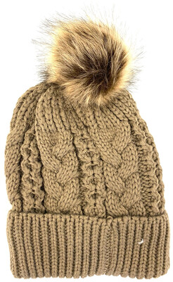 LW-514 WOOL YARN WINTER BEANIES