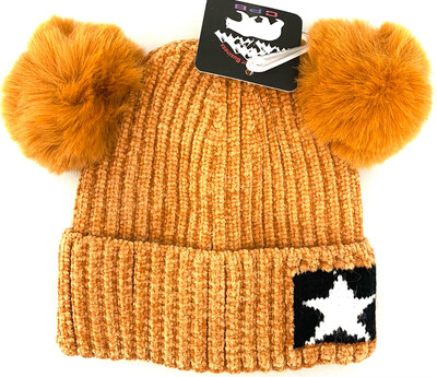 CW-013 KIDS 5 STAR BEANIES