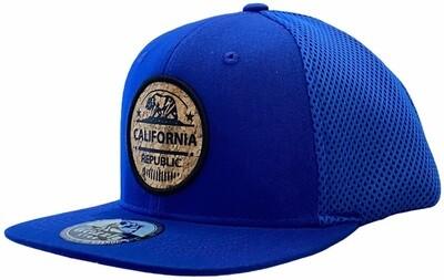 CALIFORNIA BEAR CORK ROUND SNAPBACK HAT