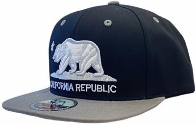 CALIFORNIA BEAR ORIGINAL SNAPBACK HAT