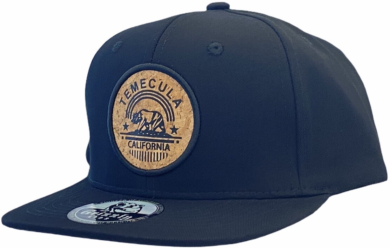 SOCAL CALIFORNIA CITY ROUND CORK SNAPBACK HAT