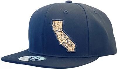 California Map Snapback Hat