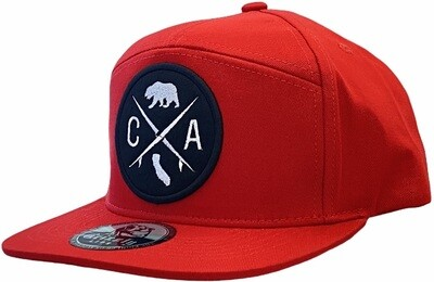 CA ROUND PATCH SNAPBACK​ HAT​​