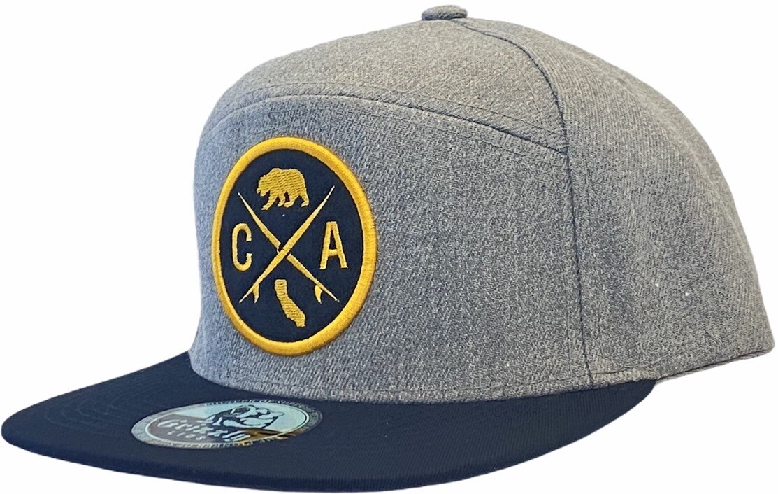 CA ROUND PATCH SNAPBACK HAT