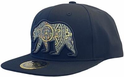 AZTEC CALIFORNIA BEAR SNAPBACK HAT