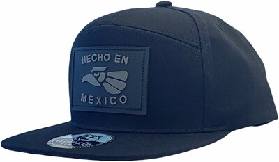 HECHO EN MEXICO EAGLE RUBBER  PATCH SNAPBACK​ HAT