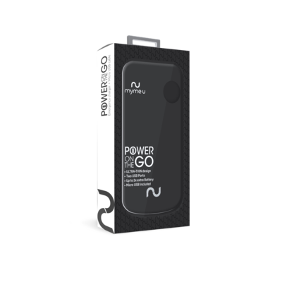 46833 POWER ON THE GO BATTERY 4400 MAH DUAL USB
