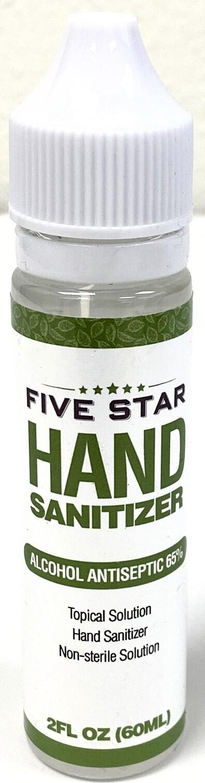 78944 FIVE STAR HAND SANITIZER 2 OZ