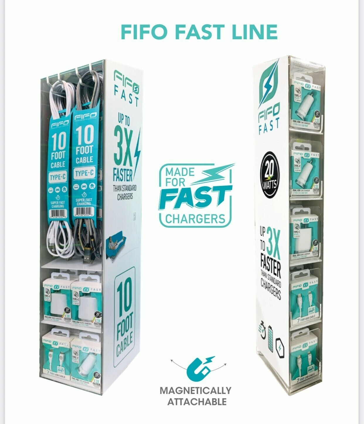FIFO ULTRA-FAST LINE FAST CLICK COLLECTION DISPLAYS