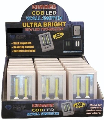 COB LED LIGHT SWITCH W/ DIMMER