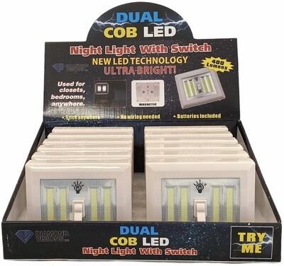 COB LED-DUAL LIGHT SWITCH
