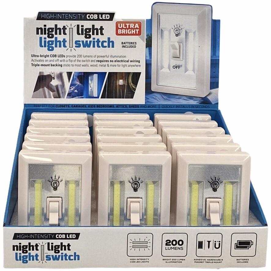 COB LED NIGHT LIGHT SWITCH