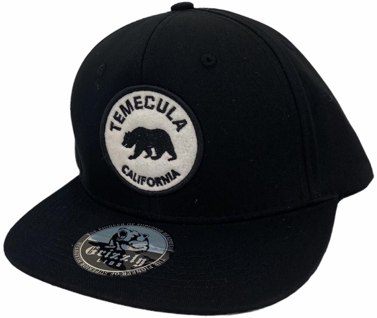 CALIFORNIA STATE CITY ROUND FELT SNAPBACK HAT