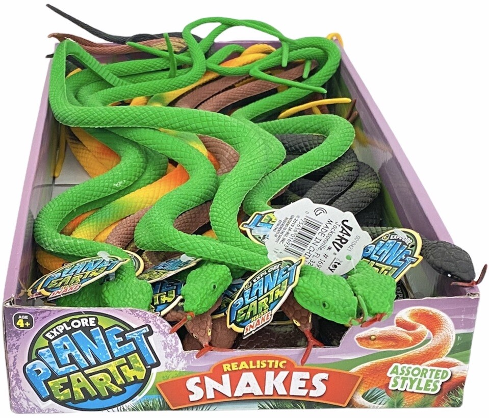 PLANET EARTH REALISTIC SNAKES