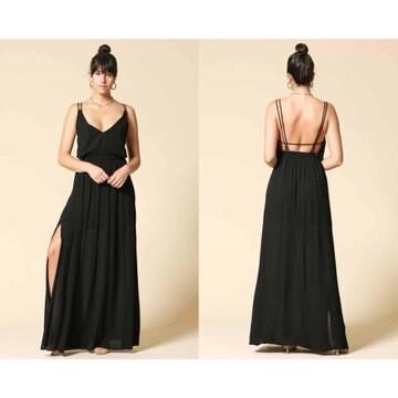 Summer Night Dress ( Maxi )