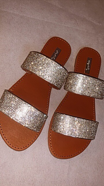 Diamond Girl Sandals