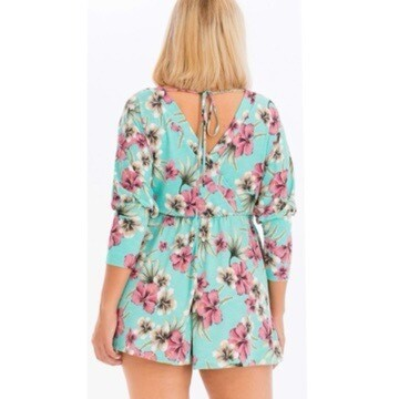 Lil Miss Flower ( Romper ) MINT