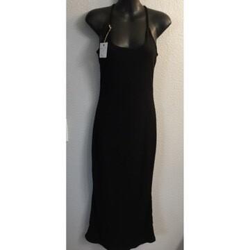 Black ribbed Mermaid Dress