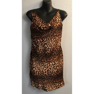 Silk Me Leopard Print Short Dress