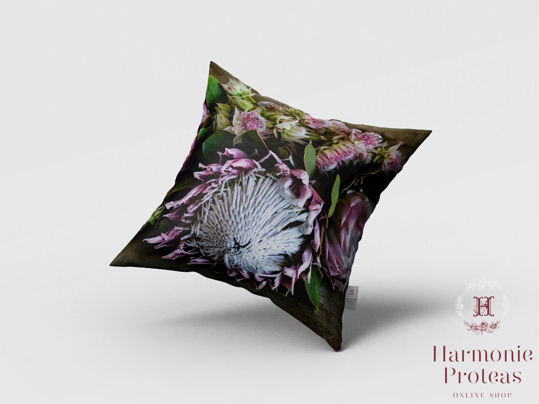 Scatter Cushion - Blushing King Protea