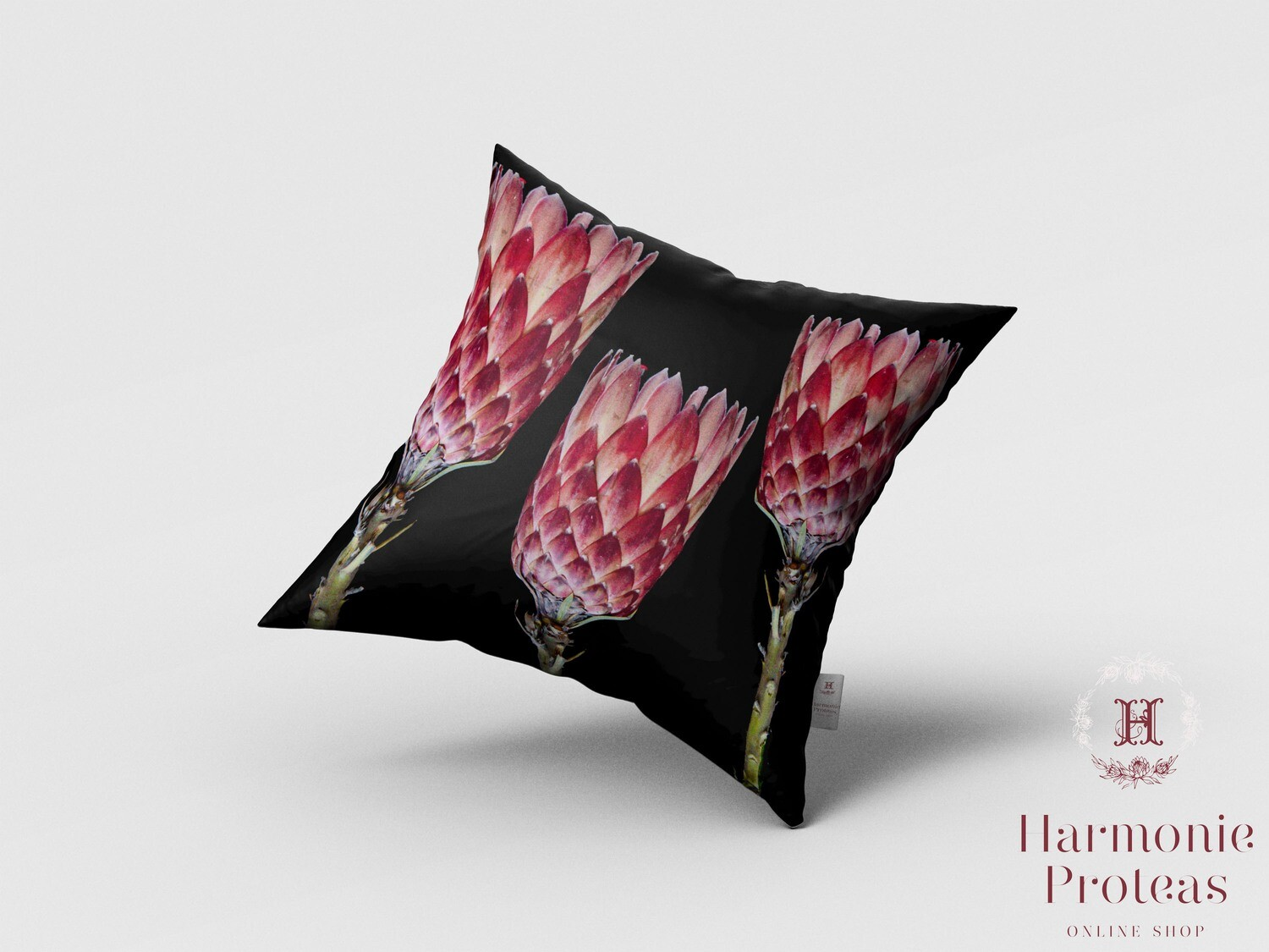 Scatter Cushion - Pink Proteas