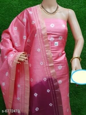 Soft silk suit material