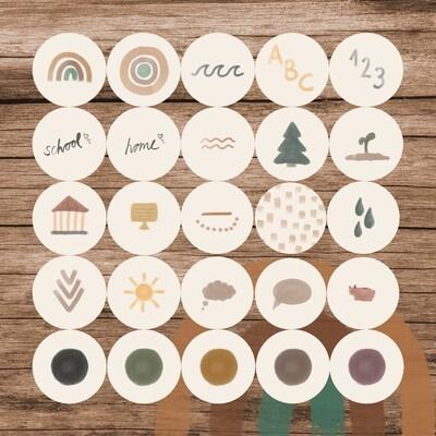 Story-Sticker Boho