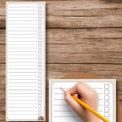 To-Do-Liste Zusatz Lehrerkalender (zum Ausdrucken und Ausschneiden)