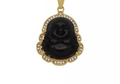 So Happy' Buddah Pendant Necklace