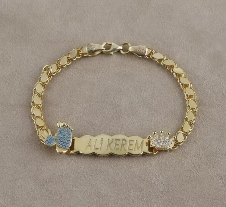 Personalized Baby Link Bracelet