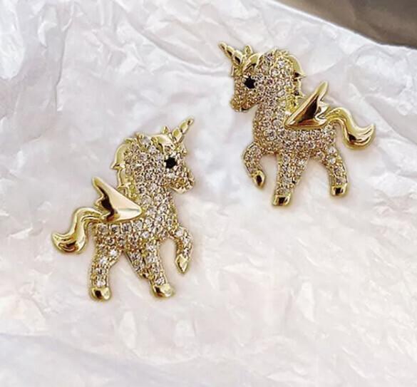 Mini Fairy Unicorn Studded Set