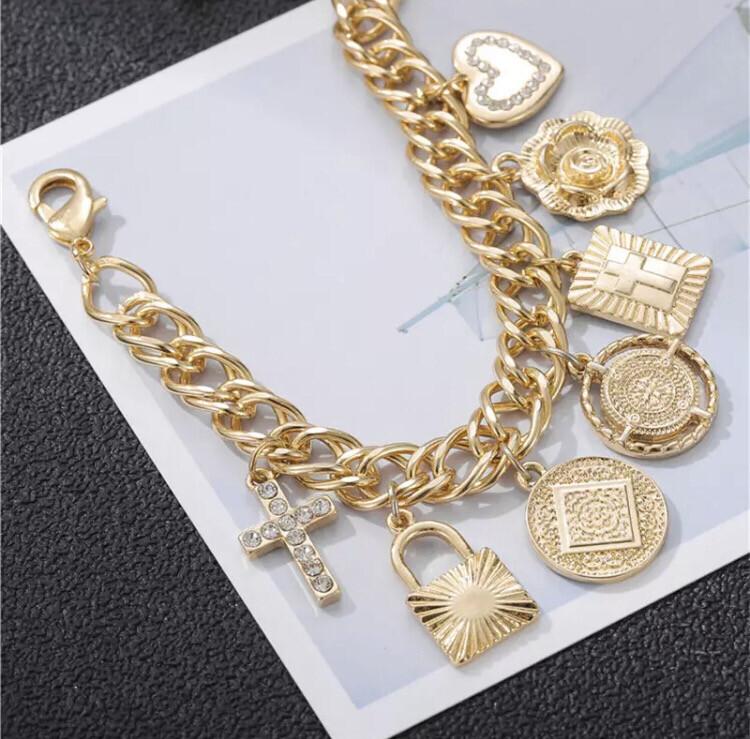 It was LOVE Charm Bracelet