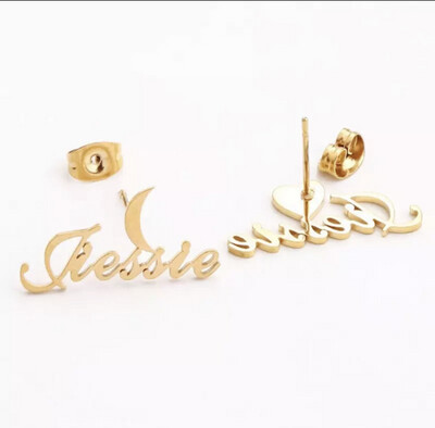 Personalized Earring Studs