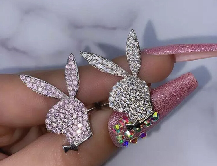 Icy bunny Ring