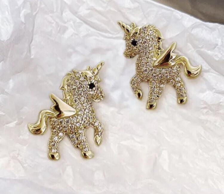Unicorn Fairy Studs