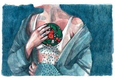 Print. DESCOLGARSE - mujeres-