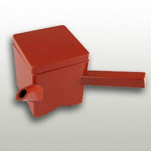 Soba Soup Pot Red Square (350cc)