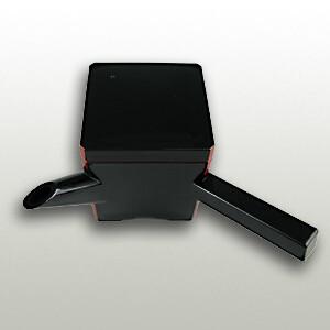 Soba Soup Pot Black (620cc)