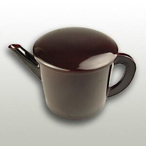 Soba Soup Pot Tame Black (540cc)